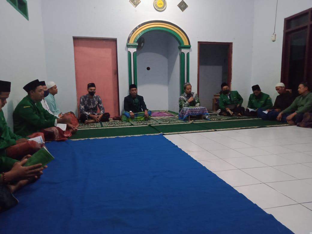 Selapanan Ranting Kandeman, GP Ansor Kandeman Diminta Rangkul Kalangan Pemuda Untuk Cinta Agama