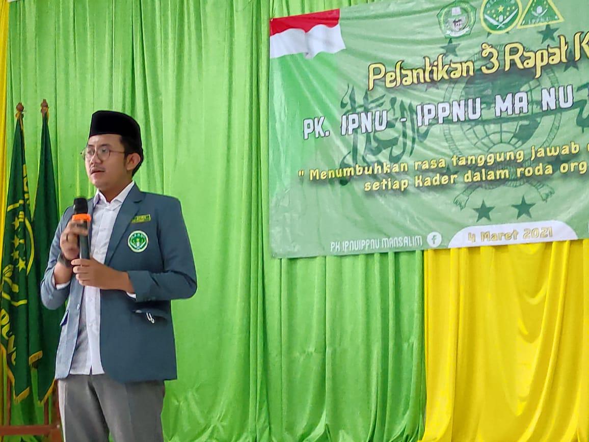 Saripudin Ketua PC IPNU Batang