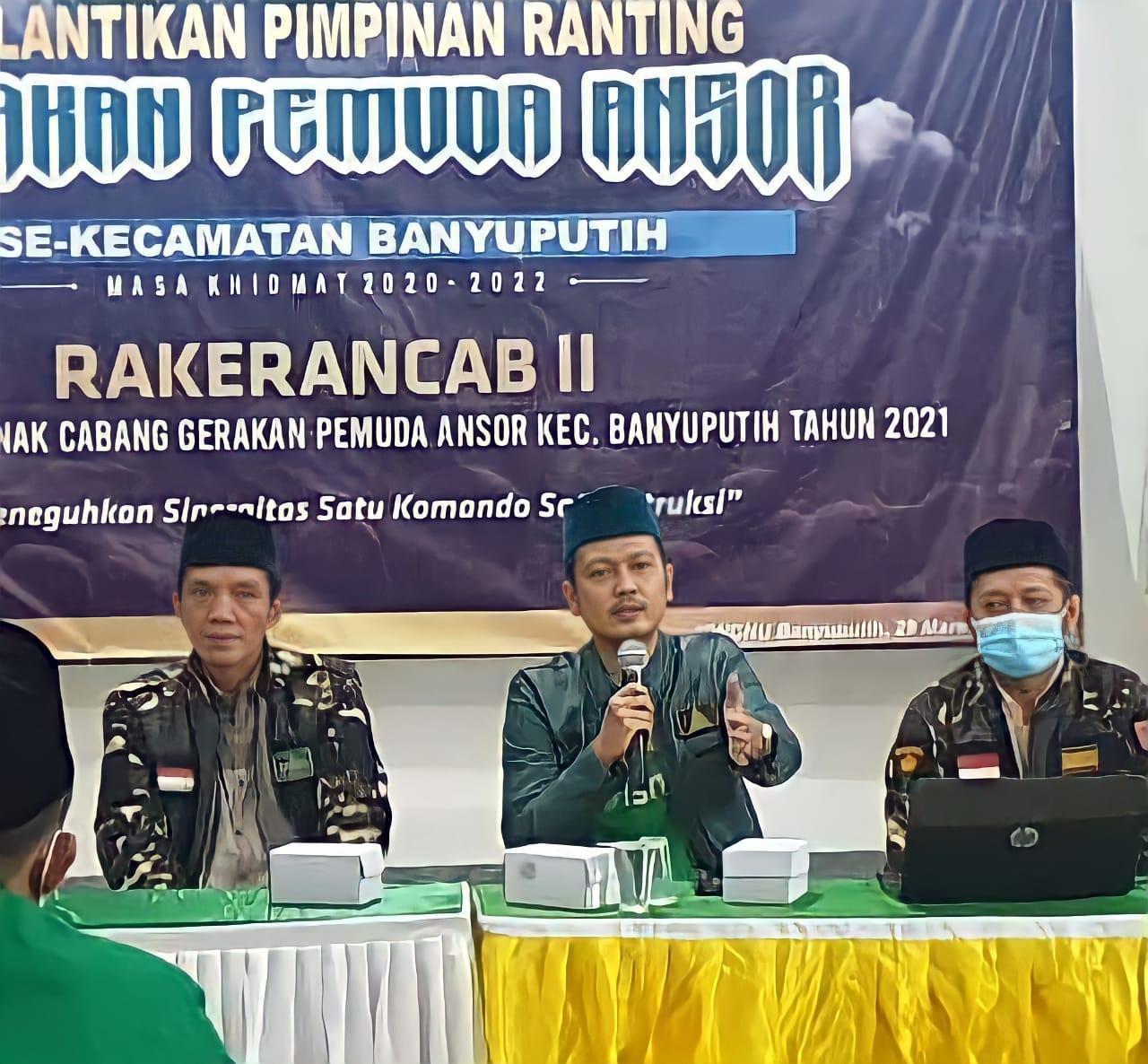 Ketua Ansor Batang, Tegaskan Empat Karakteristik Organisasi Kepada Para Pemuda Ansor