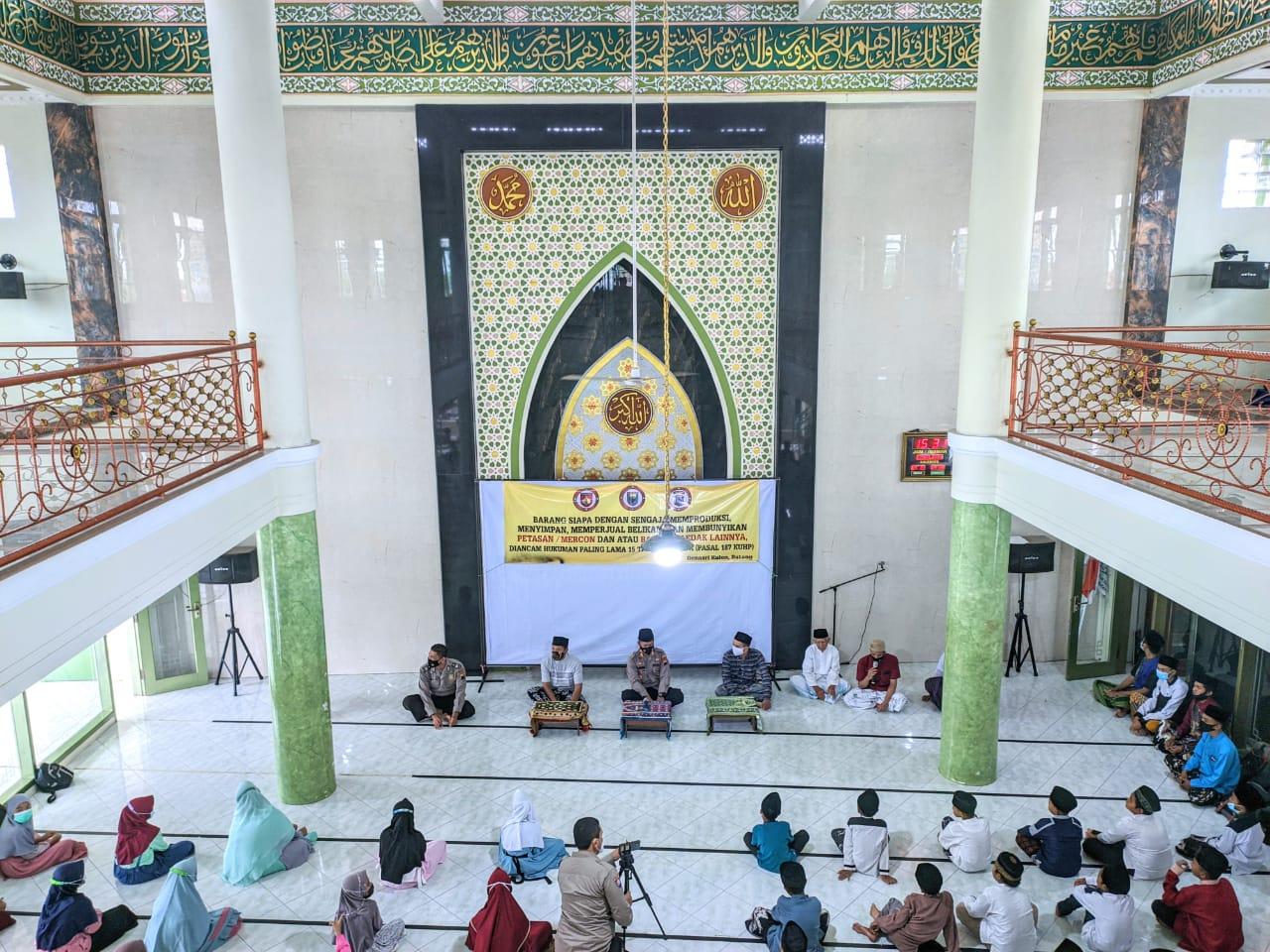 Pelajar NU & IRMA Denasri Kulon Batang Gelar Pesantren Ramadhan