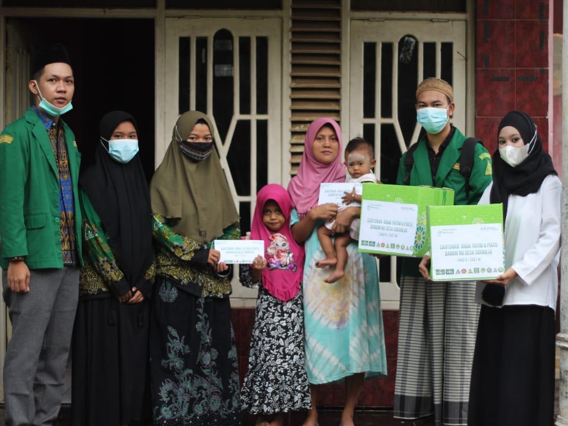 NU Desa Sidorejo Kembali Menggelar Santunan Anak Yatim Piatu