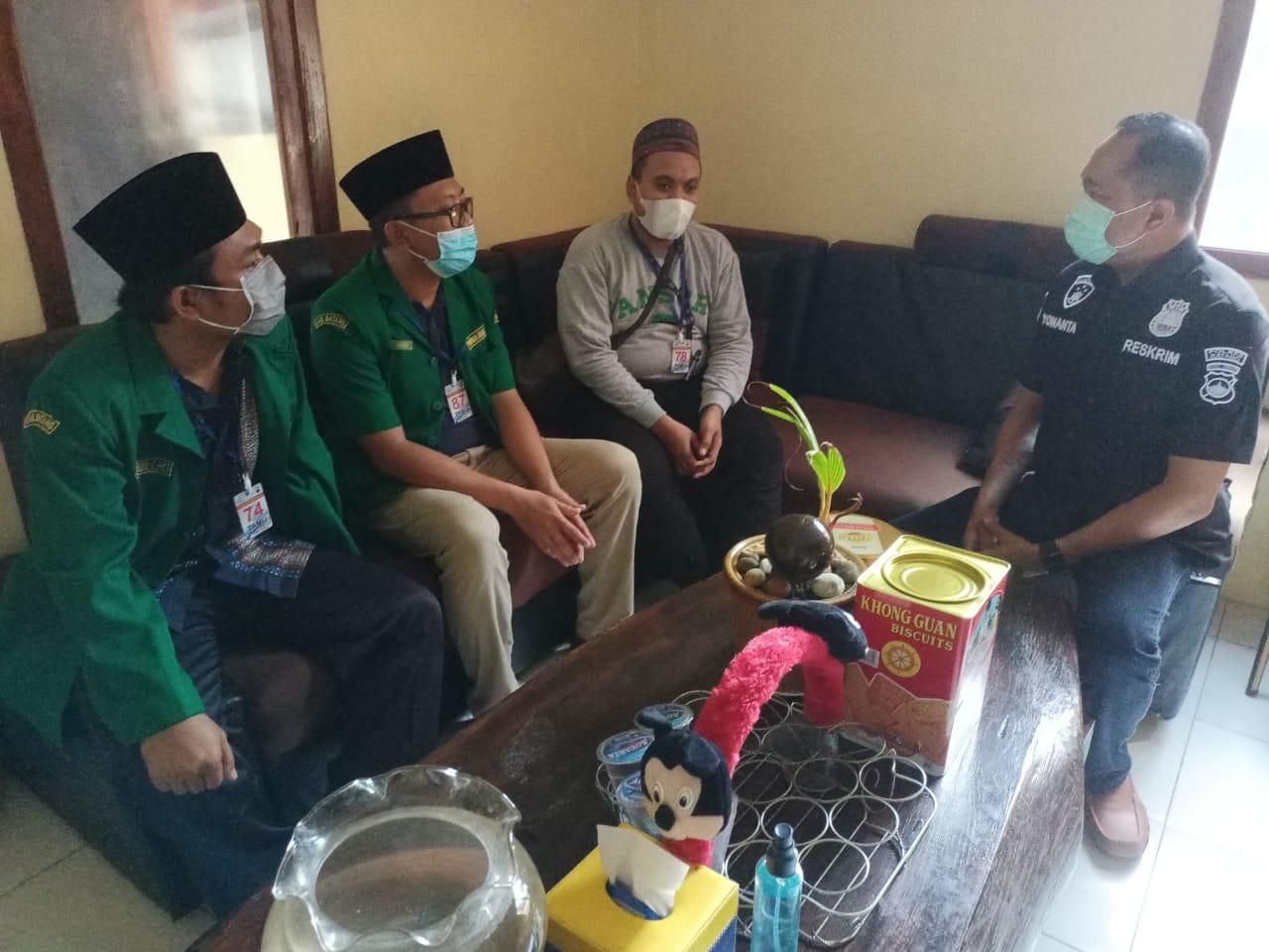 PC GP Ansor Batang dan Polres Batang Diskusi Perihal Postingan yang Menodai Pancasila