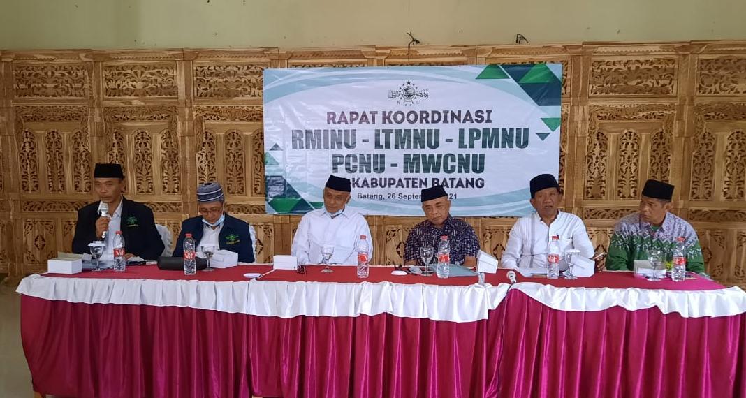 Rakor PCNU Batang dengan Tiga Lembaga (RMI, LTM, LP Ma'arif) Telurkan Beberapa Keputusan dan Rekomendasi